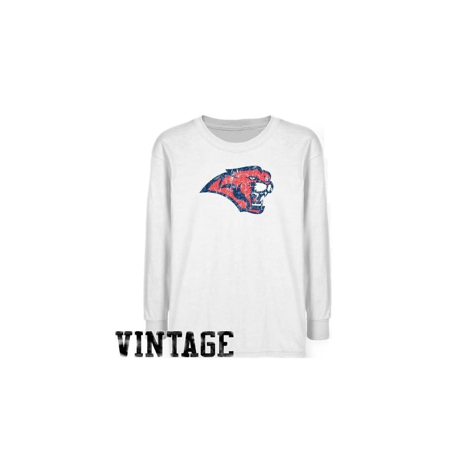 b3c9f5841 Houston Cougars T Shirt Houston Cougars Youth White Distressed Logo ...