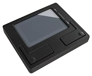Perixx PERIPAD-501 - Wired USB Touchpad - Black - 86x75x11mm Dimension - Cirque Touchpad - Fit with Industrial & Professional Use - Scrolling Feature