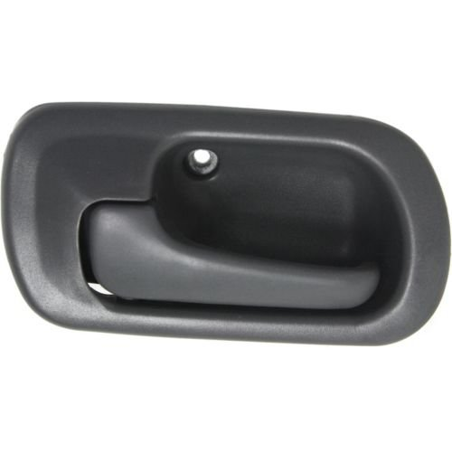 Perfect Fit Group REPHD462118 - Civic Rear Door Handle LH, Inside, Gray (Charcoal), Sedan, Dx/ Ex/ Gx/ Lx Models (2000 Honda Civic Ex Door Handle compare prices)