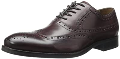 Johnston & Murphy Men's Tyndall Wing Tip Lace-Up