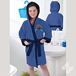 Spiderman Kid's Hooded Robe and Towel (Large (9-11 Yrs old))