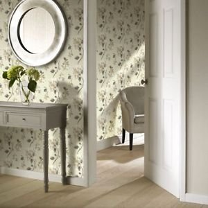 Gran Deco Aquarelle Motif Wallpaper - Neutral by New A-Brend