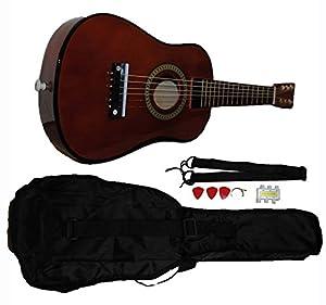 Mini Kids Acoustic Toy Guitar Kit Gig Bag + Picks + Strap + Tuner from Shop4Omni