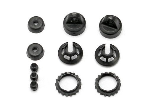 Traxxas 7065 Caps and Spring Retainers for 1/16 GTR Shocks