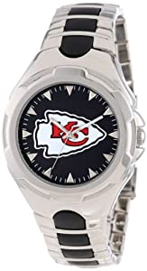 NFL Mens NFL-VIC-KC Victory Series Kansas City Chiefs Watch by Game Time
