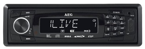 AR 4020 Autoradio (CD/MP3-Player, UKW-/MW-Tuner, SD Kartenslot, USB) schwarz