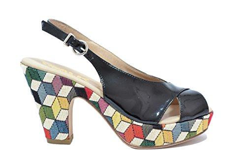 Melluso Sandali scarpe donna nero 03773 38