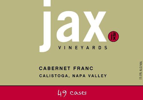 2010 Jax Cabernet Franc 750 Ml