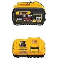 Dewalt DCB609 20V/60V Max Flexvolt 9.0Ah Battery + Dewalt DCB118 20V Max Flexvolt Fast Charger