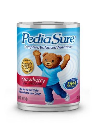 Pediasure 8Oz Can Strawberry/Standard