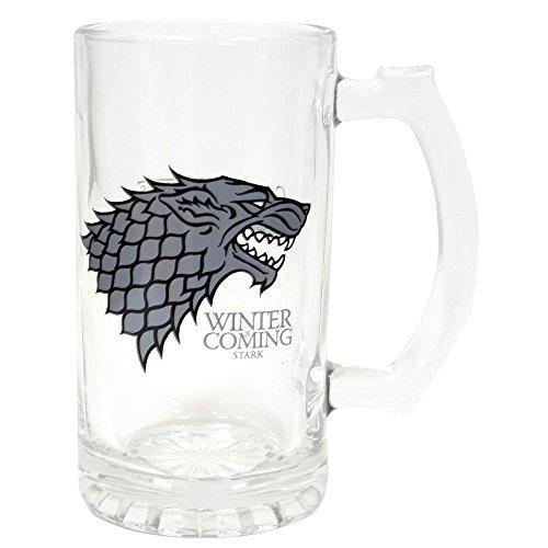 [Importato dall' Inghilterra]Game of Thrones Stark Boccale da birra