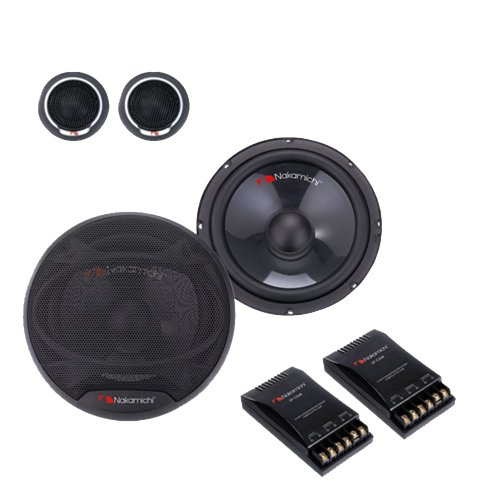 "Nakamichi Sp-Cs68 6""X9"" 6.5"" 2-Way Component Car Speaker 420Watts Max Power"