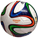 adidas Unisex Glider Brasil FIFA World Cup Football 32 Panel Construction
