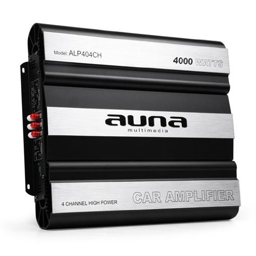 Auna 4000W max. 4-Kanal Auto Car Endstufe Verstärker