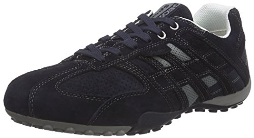 Geox Uomo, Sneakers, Uomo Snake K, Blu (Azul (Navy)), 43