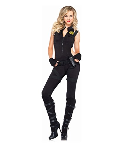 [SWAT Knockout Costume - Medium - Dress Size 8-10] (Knock Out Costumes)