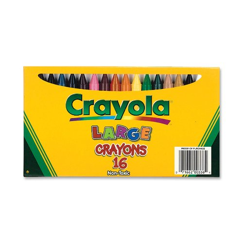 Crayola Large Crayons Box of 16 520336