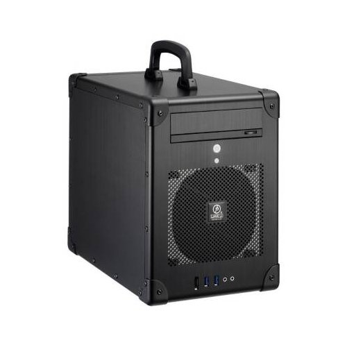 =>  Lian Li PC-TU200B / PC-TU-200B Black Aluminum Mini-ITX Tower Computer Case - NEW - Retail - PC-TU200B