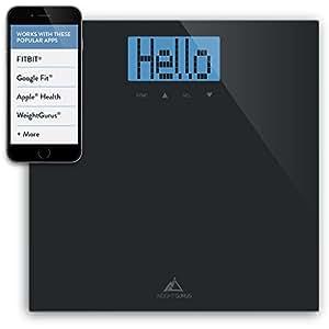 Amazon Com Weight Gurus Digital Bathroom Scale With Large