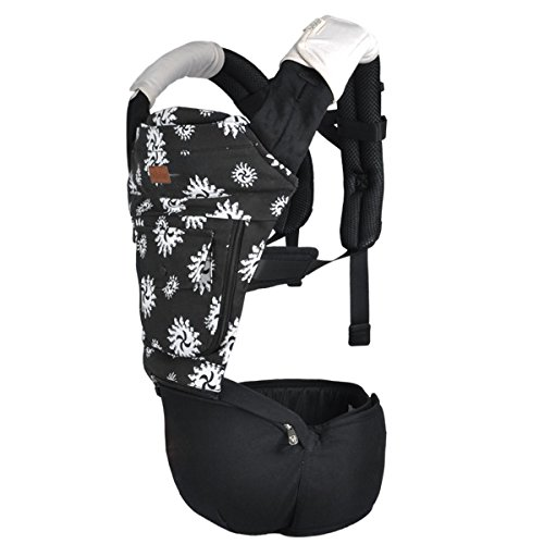Ecosusi Seated Carrier Ergonomic Front And Back Best Baby Carrier (Coffee)
