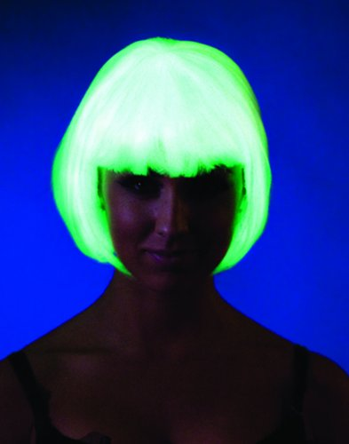 Glow in the Dark Bob Wig