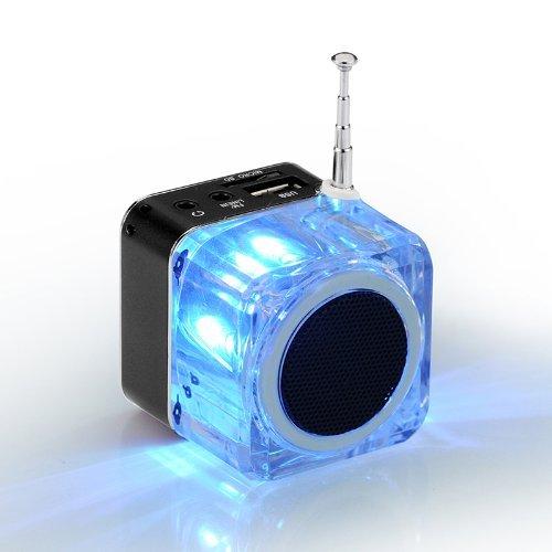 Qich® Mini Digital Portable Music MP3/4 Player Micro SD/TF