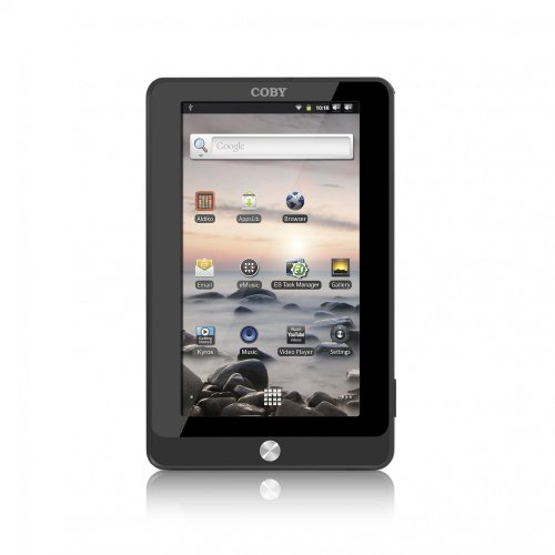 Coby Kyros 7-Inch Android 2.3 4 GB Internet Touchscreen Tablet, Black MID7016-4G