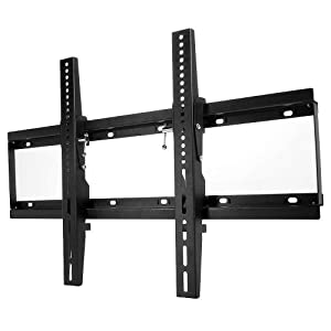 TechTronics Pro Tv Wall Mount Bracket will fit all 37-60 inches flat screen Televisions will fit Sony Samsung Panasonic Sharp Insignia LG Vizio RCA plus many more. 37 40 41 42 45 46 47 49 50 51 52 55 57 60