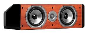 Polk Audio CS20 Center Channel Speaker (Single, Cherry)