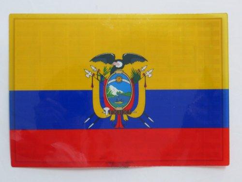 Ecuador Ecuadorian Ec Flag Flashing Sound Activated Dj Light Up Led Decal Sticker Patch Panel