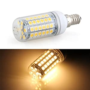 Bombilla Lámpara Foco Luz Blanco Cálido E14 8W 69 LED 5050 SMD AC 220V 3000K   más noticias y comentarios