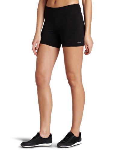Fila Women's Toning Resistance Short, Black, Medium