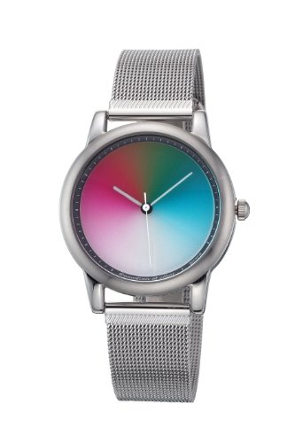 Rainbow e/motion of color Quartz Analogue AV21PG-B-PG-ga Unisex Watch