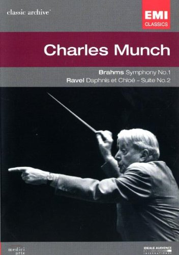 Charles Munch: Brahms Symphony, No. 1 / Ravel Daphnis & Chloe [DVD] [Import]