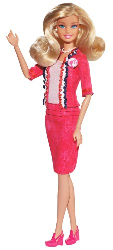 Barbie I Can Be U.S.A. President Barbie Doll (I Can Be Barbie compare prices)