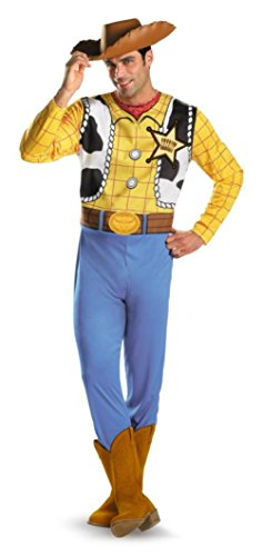 Disguise Mens Classic Disney Toy Story Woody Theme Party Fancy Costume
