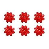 E-Retailer Fancy Red Diamond Gel Candle (Set Of 6 Pcs.)