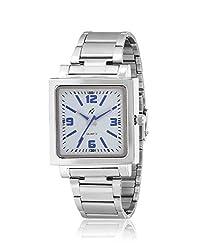 Yepme Men's Chain Watch - White/Silver
