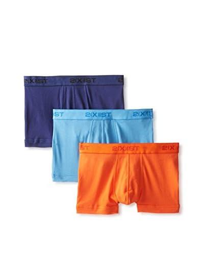 2xist Men's Essentials No Show Trunk - 3 Pack
