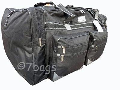 Extra Large, Big Holdall, Suitcase Size Travel Bag, Black Holdall 406K