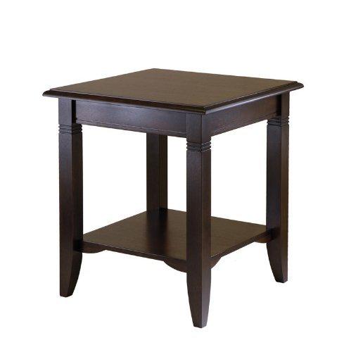 Cheap Winsome Wood 40220 Nolan End Table, Cappuccino (B002ZFIX3E)