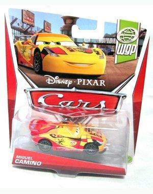 Disney/Pixar Cars, WGP (World Grand Prix) Die-Cast Vehicle, Miguel Camino #7/17, 1:55 Scale - 1