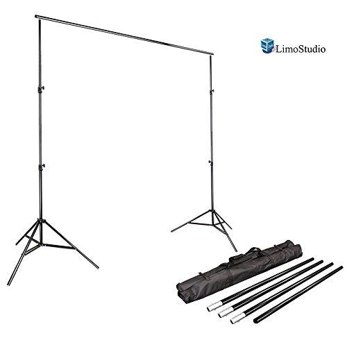 limostudio-photo-video-studio-10ft-adjustable-muslin-background-backdrop-support-system-stand-agg111
