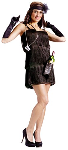 Funworld Womens Sexy Bootleg Baby Flapper 1920'S Adults Fancy Halloween Costume