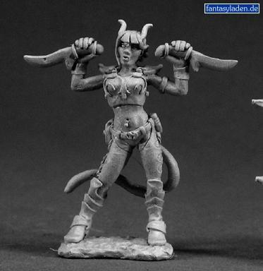 Tiviel, Female Demonic Rogue 03315 by Reaper