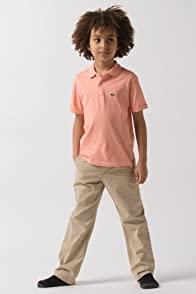 Boy's Short Sleeve Jersey Polo