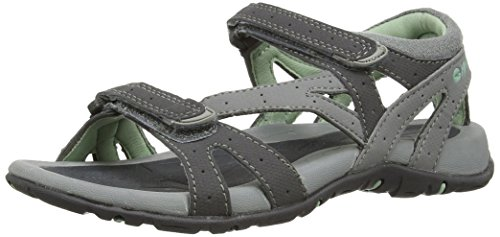 Hi-tec - Galicia Strap, sandali sportivi da donna, grigio (grau (cool grey/charcoal/lichen 051)), 40 EU