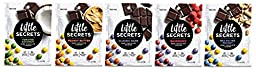 Little Secrets 5 Flavor Variety Pack - Premium Fair Trade Chocolate - {5oz., 5 Pack} The World\'s Most Delicious Chocolate Candies