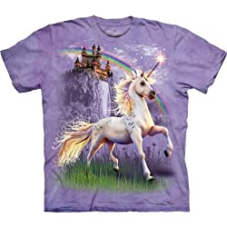 Funny product The Mountain T-Shirt Unicorn Castle Tee
