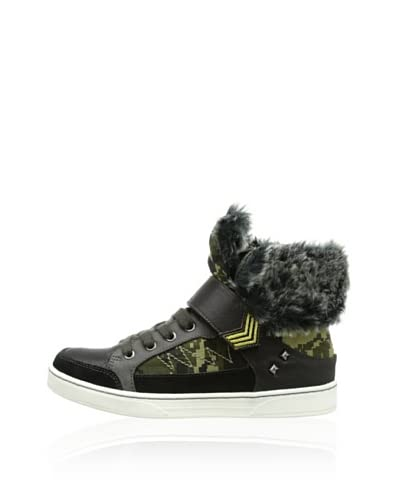 Bullboxer Sneaker Alta [Nero]